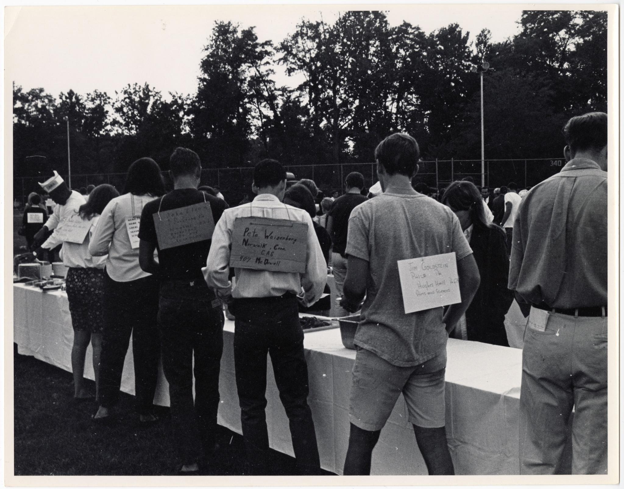 1968 Freshmen Orientation