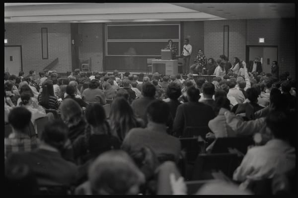 The New AU meeting at American University, April 24, 1969